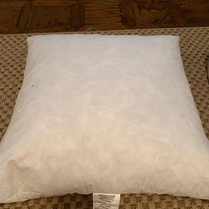 18x18 feather pillow insert
